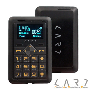 【CARD】新加坡 CARD Phone CM1-Globe 3G 名片型手機 (尊爵黑)