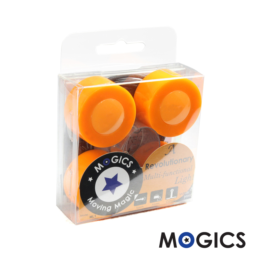 MOGICS|摩奇客燈蠟燭終結者(圓滿橘色 4入)