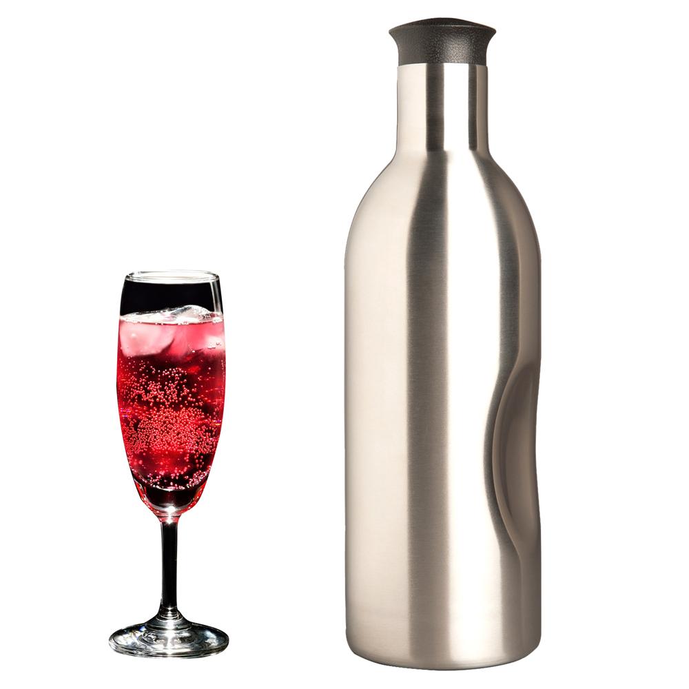 Soda Splash 魔泡瓶|1.2 L 不鏽鋼氣泡水機 內含11支氣彈瓶