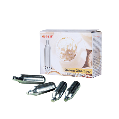 MOSA | 奶油槍專用氣彈5盒(共50顆入)