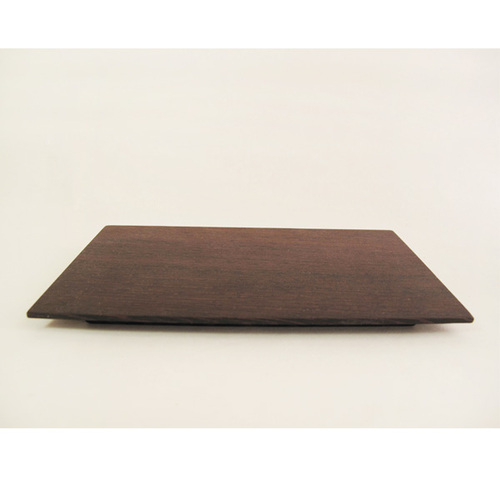 WM木合金 露・La Rosée木質手感咖啡壺組-1壺1匙1盤(鐵刀木)