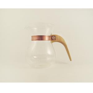 WM木合金 露・La Rosée木質手感咖啡壺組-簡約款-1壺(黃金象牙木)