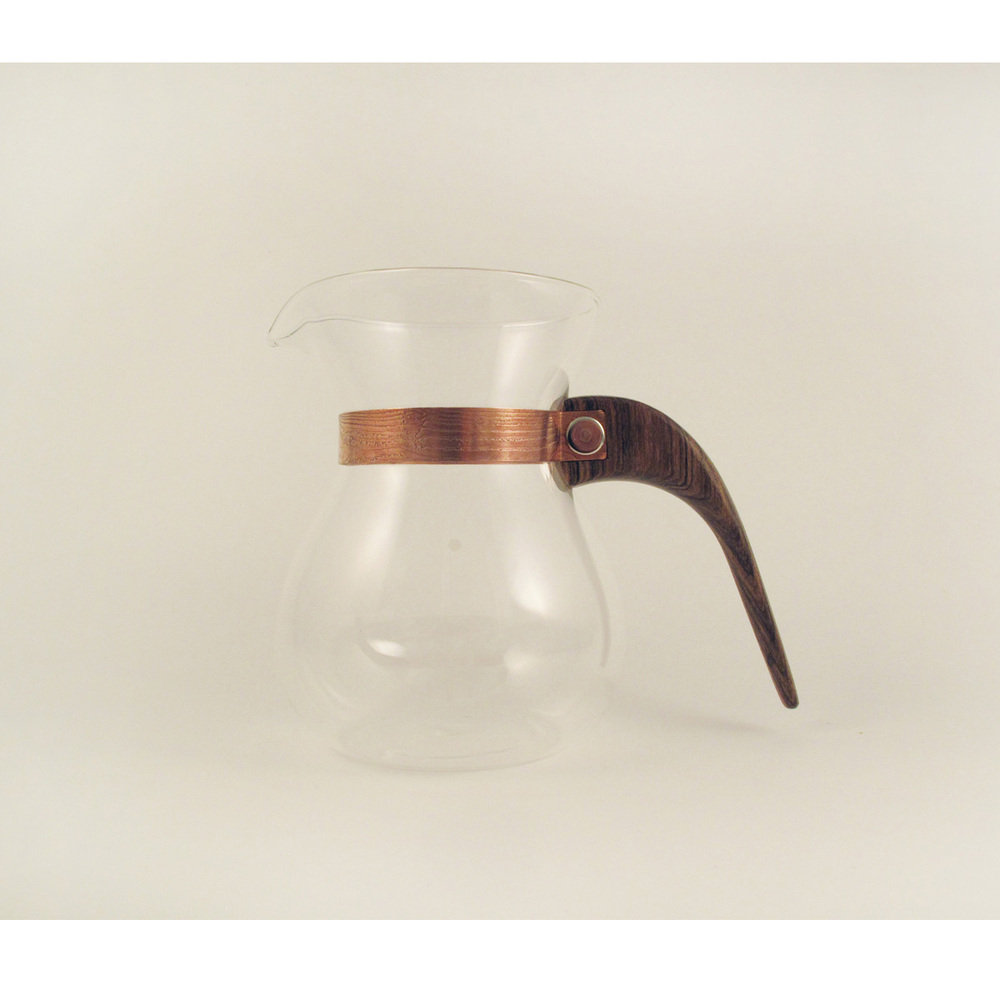 WM木合金|露・La Rosée木質手感咖啡壺組-簡約款-1壺(黑金檀)