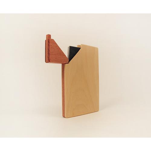木合金設計WMDesign/手工木製名片盒/黃金象牙木