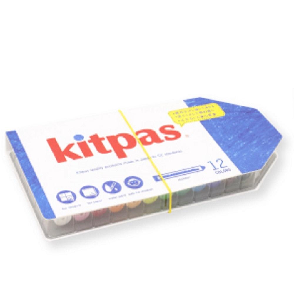 Kitpas|Kids 12色筆套蠟筆組