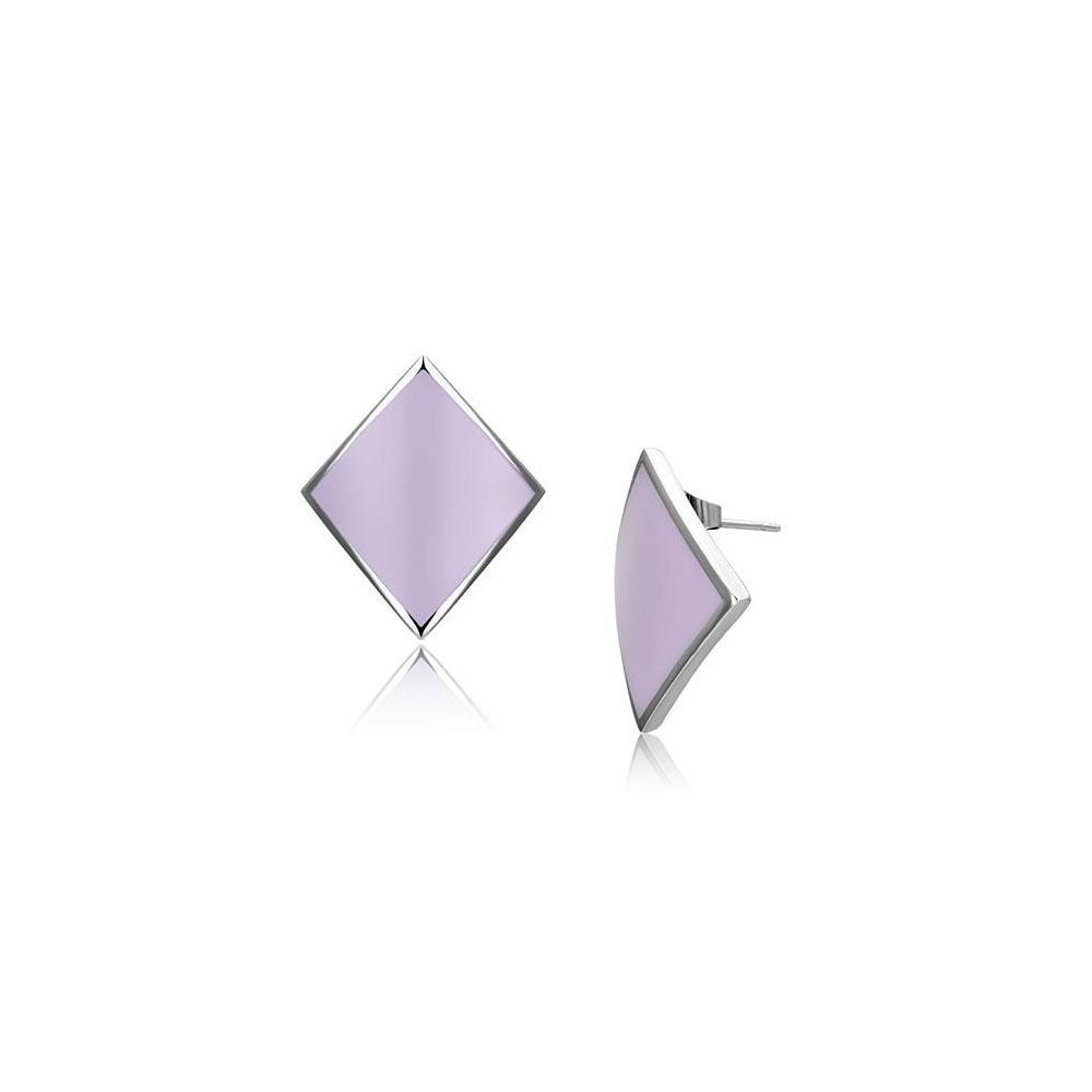 Miaarte 幾何造型不鏽鋼耳環