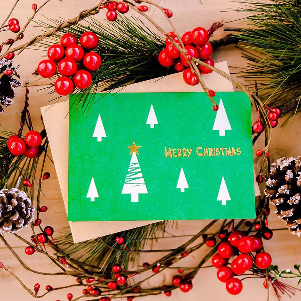 WOOPAPERS 種子紙聖誕卡 Merry Christmas (聖誕樹 X'mas Tree2)
