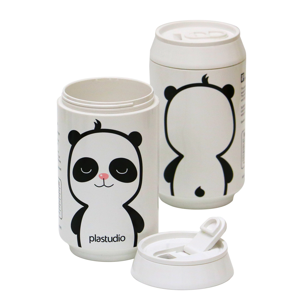 plastudio|ECO CAN-280ml(白)-PANDA