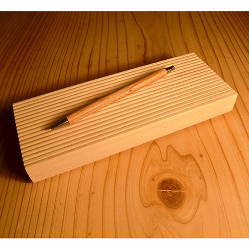 一郎木創|無垢文具架 加長皂盤