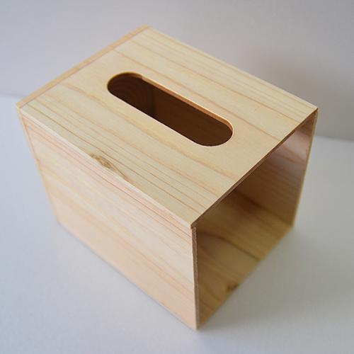 一郎木創|心持木面紙盒(小)