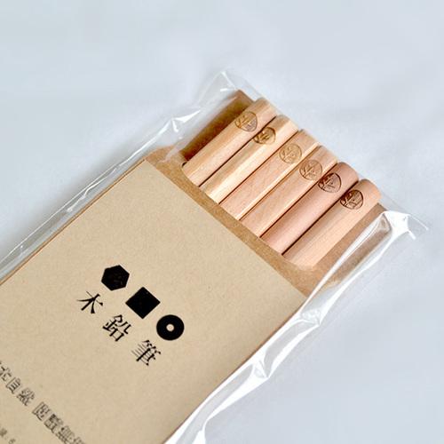 一郎木創|木鉛筆(3包入) HB 3款造型