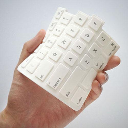RayDot|鍵盤杯墊-A(白)