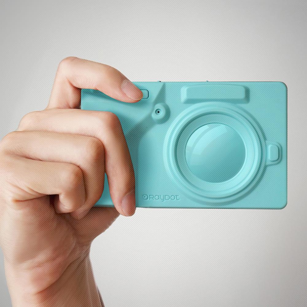 RayDot 相機筆記本(藍)