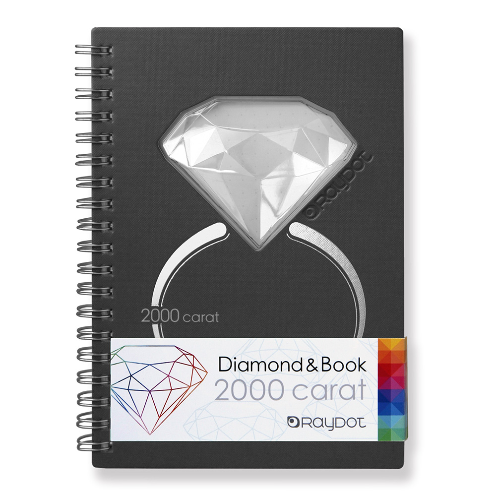 RayDot | 鑽石筆記本 (黑曜灰)