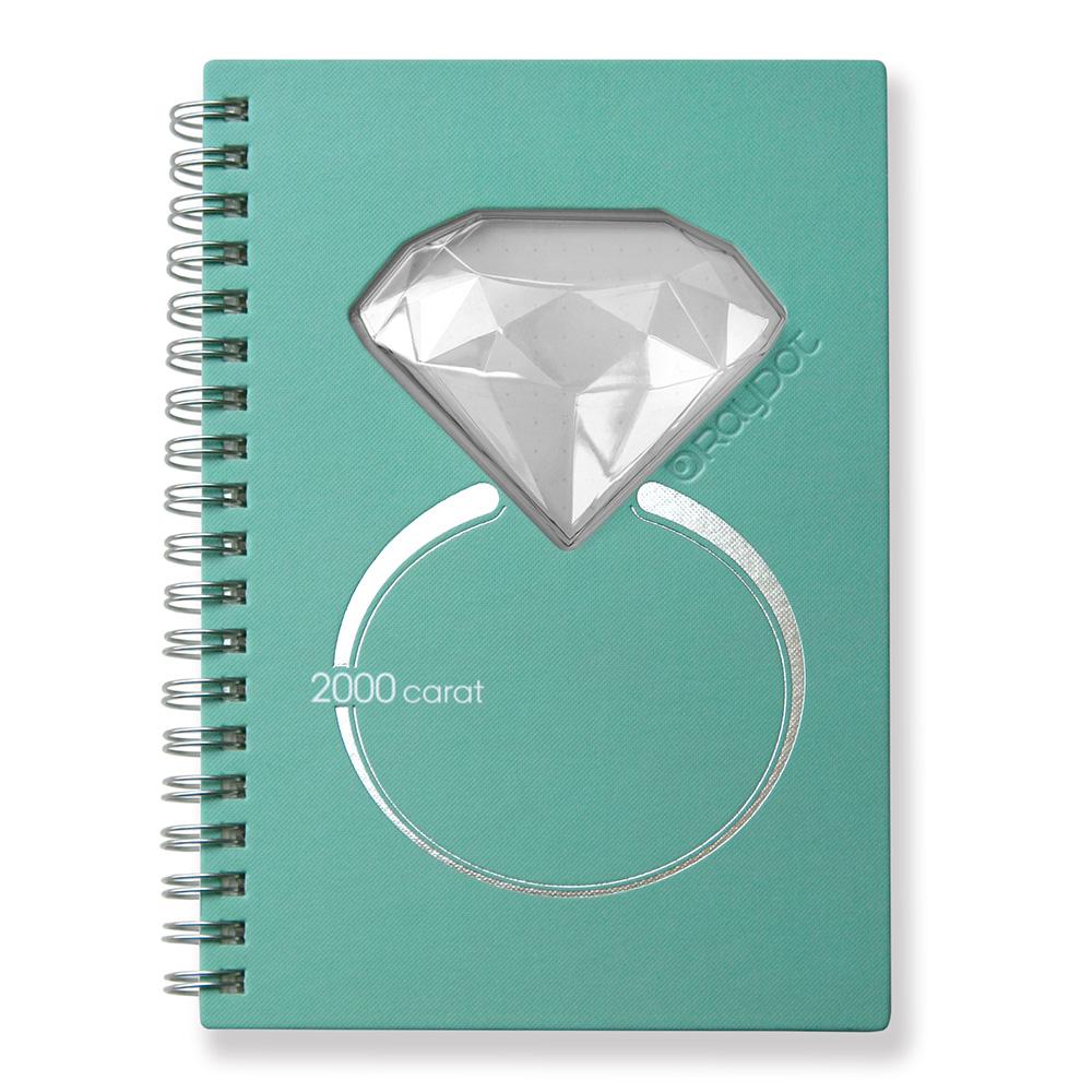 RayDot | 鑽石筆記本 ( 蒂芙妮藍)