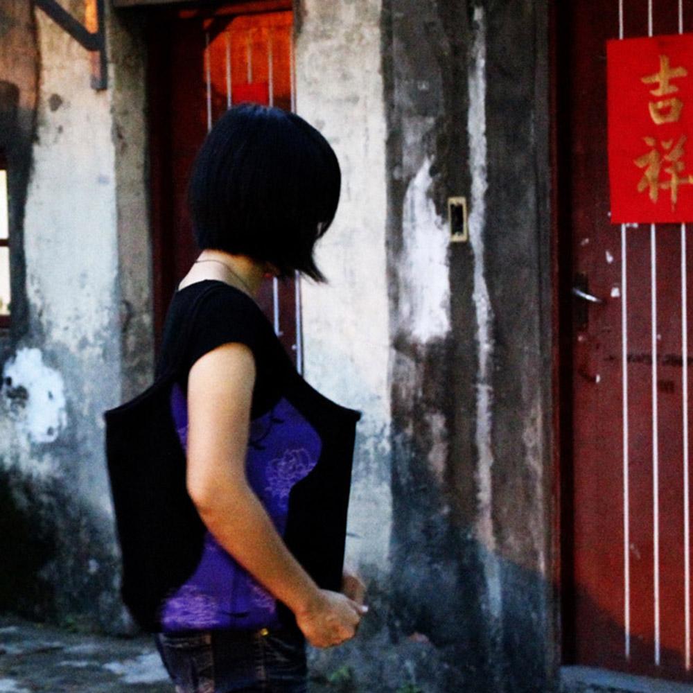 yeduo|窈窕曲線包-旗袍版(綠/紫)