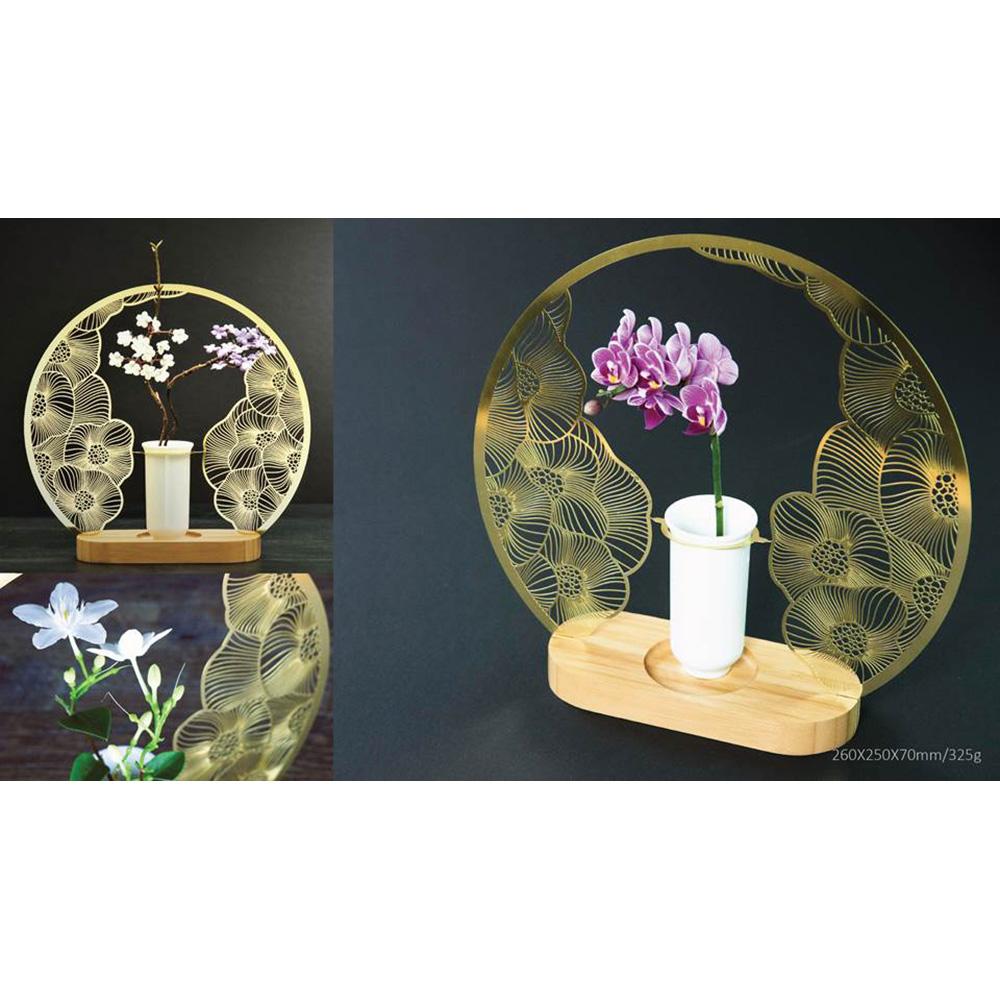 yeduo|花器-花好月圓