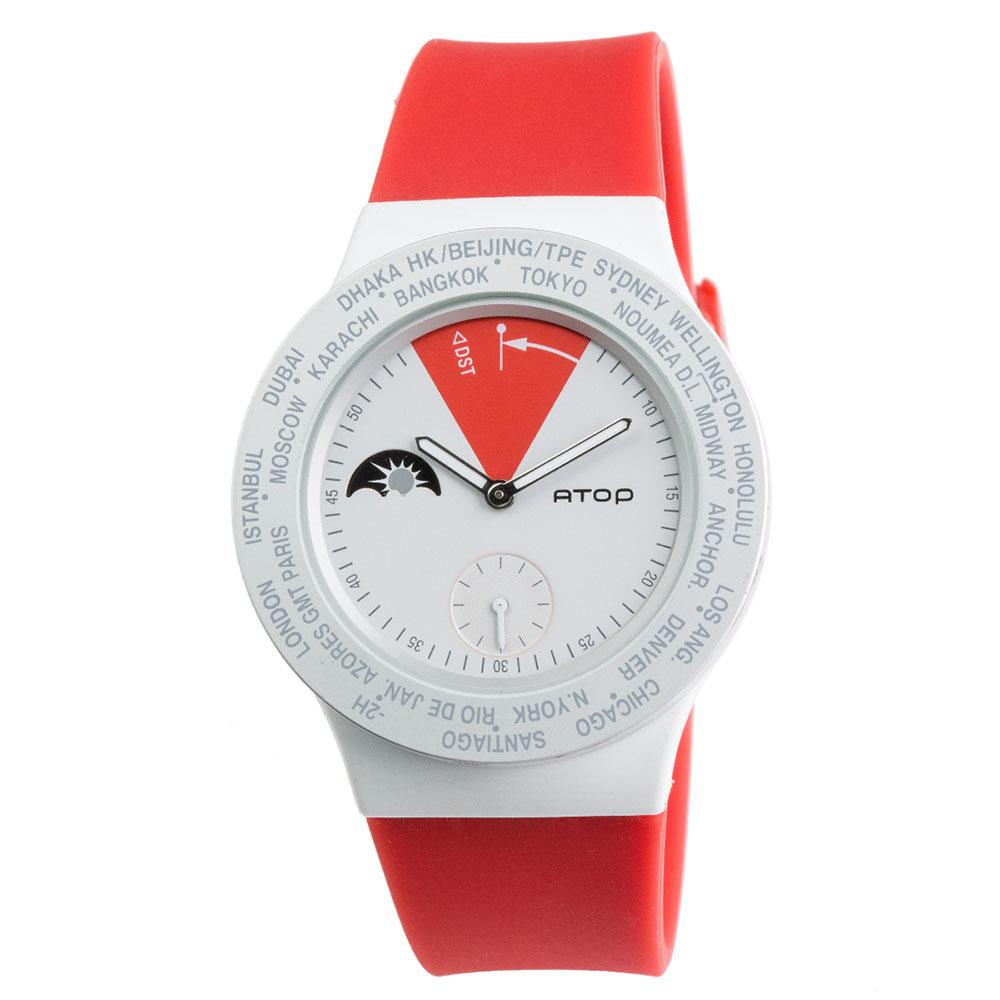 ATOP 世界時區腕錶 - VWA-Canada 加拿大