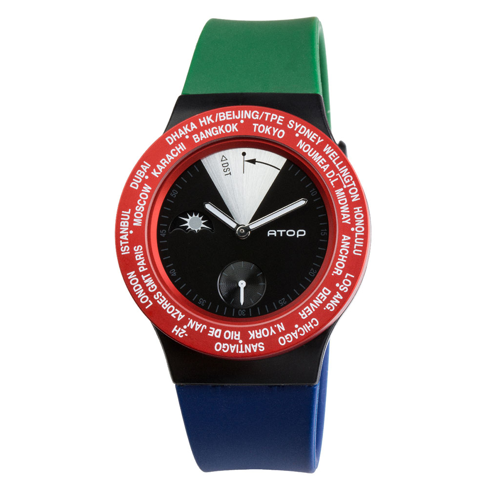 ATOP 世界時區腕錶 - VWA-South Africa 南非