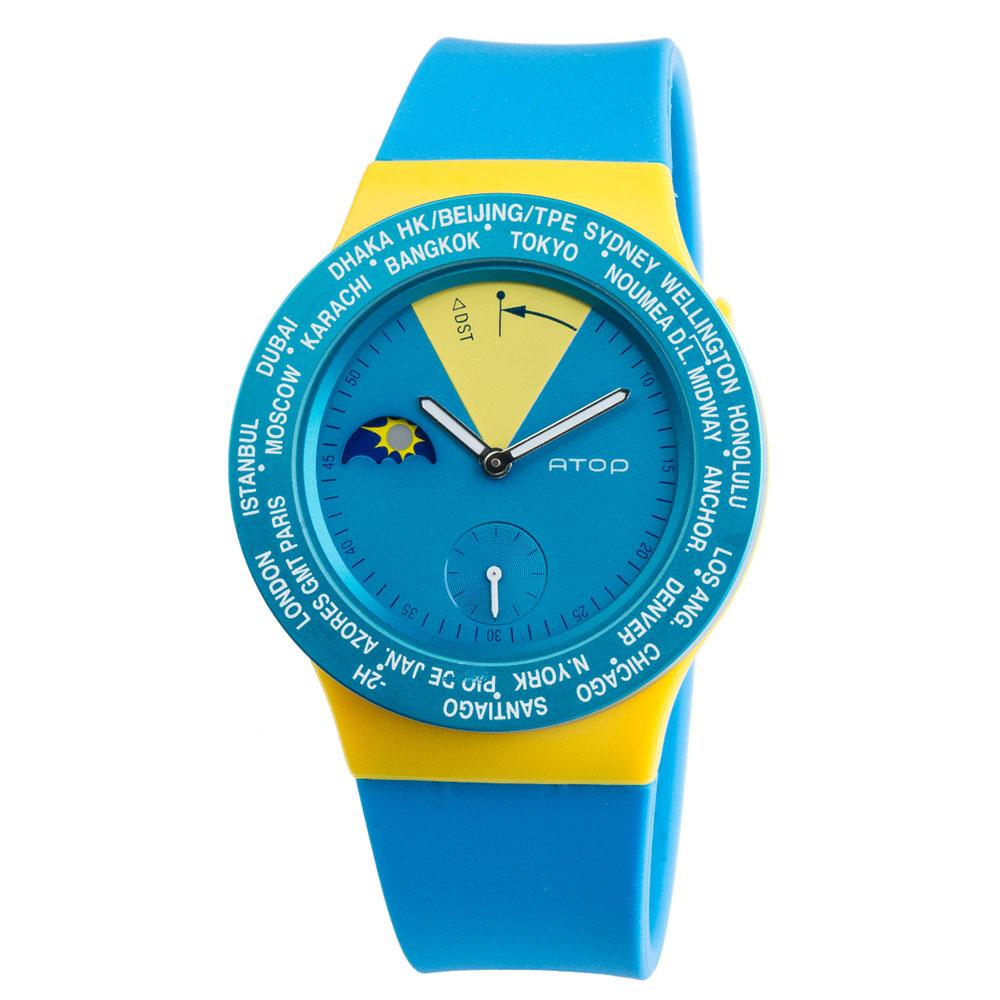 ATOP 世界時區腕錶 - VWA-Sweden 瑞典