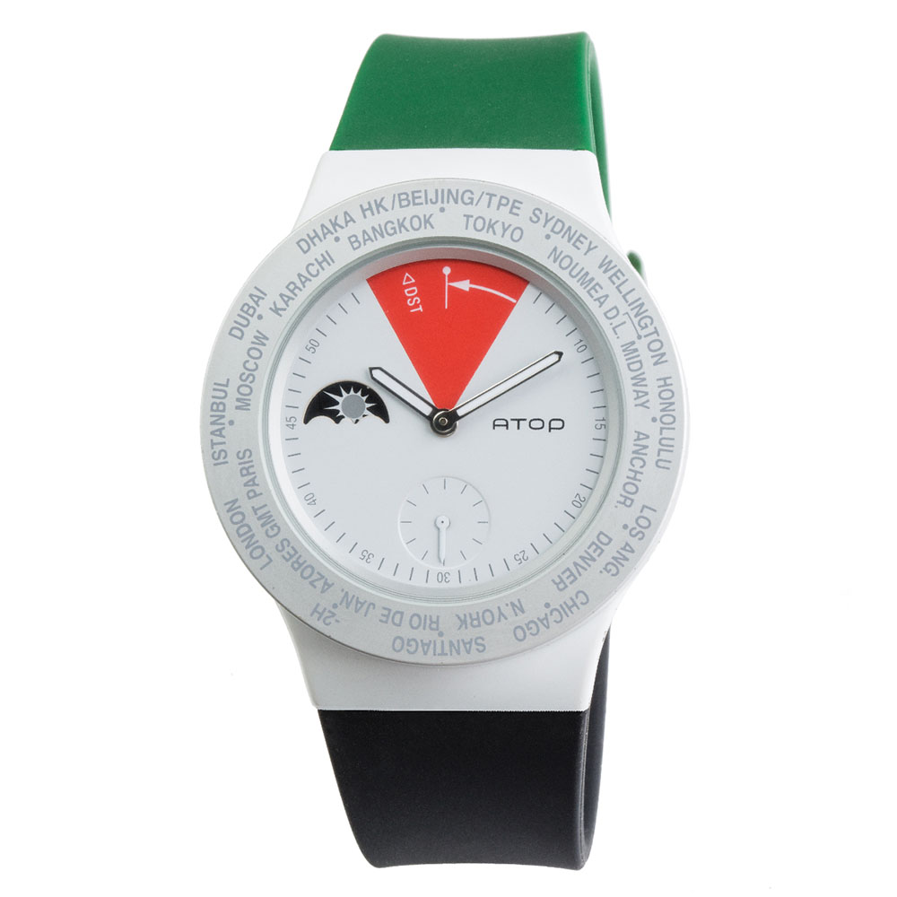 ATOP 世界時區腕錶 - VWA-UAE 阿聯酋