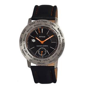 ATOP|世界時區腕錶-24時區菁英系列(金屬色)