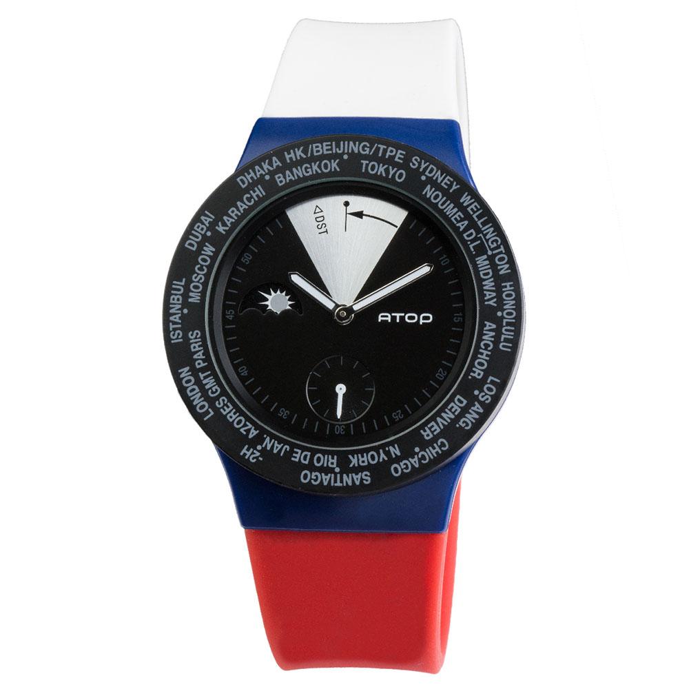 ATOP 世界時區腕錶 - VWA-Russia 俄羅斯