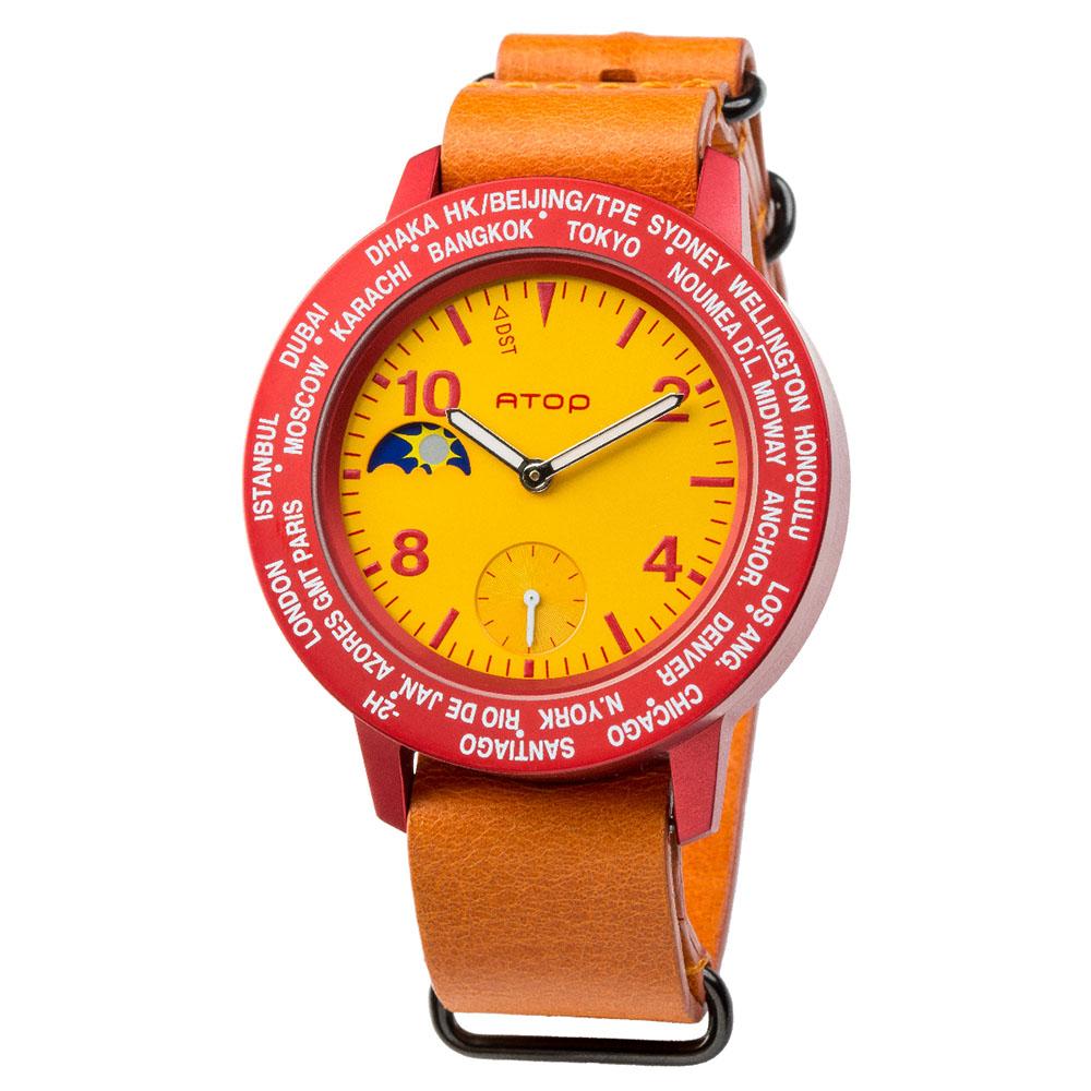 ATOP 世界時區腕錶 - AWA-SPAIN-L06 西班牙
