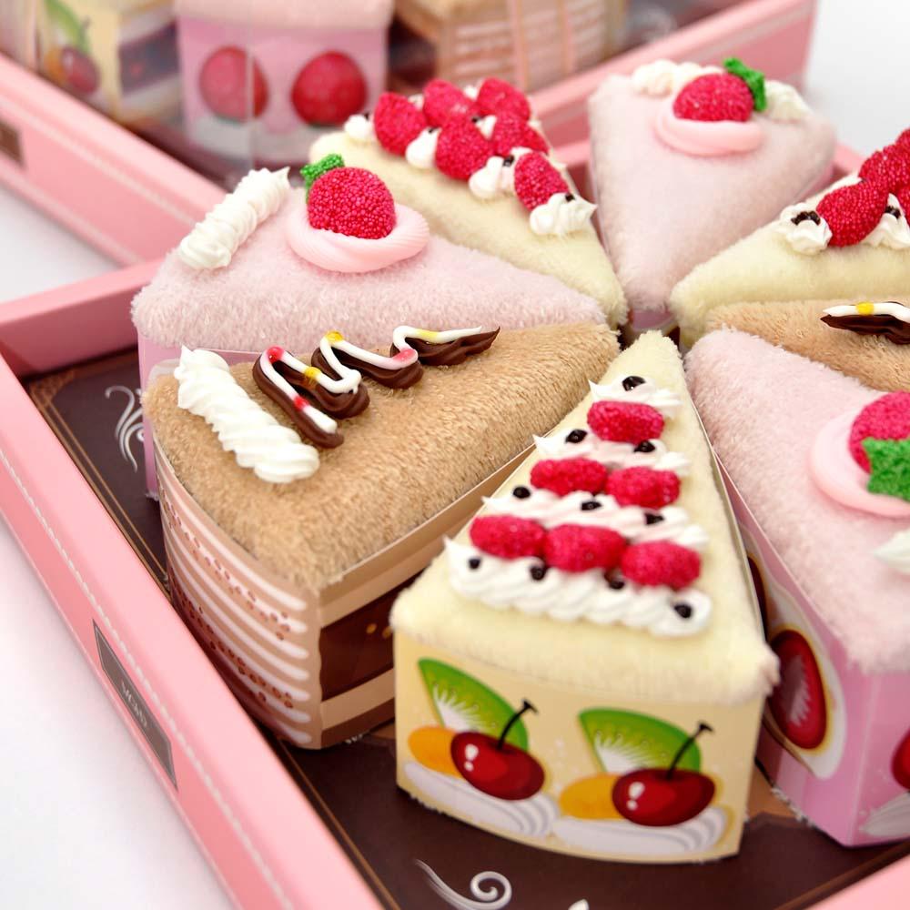 MGHD|下午茶之戀創意毛巾-8吋蛋糕