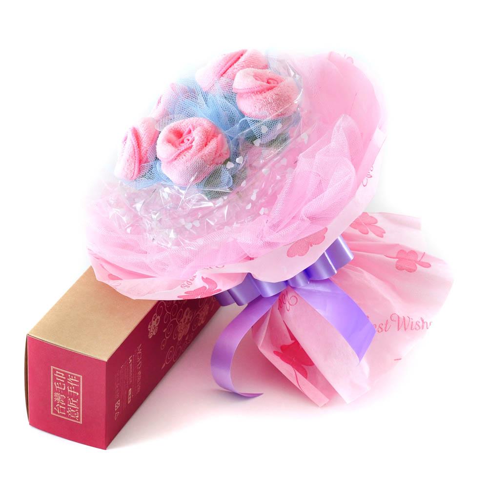 MGHD|幸福小玫瑰毛巾花束-純愛版