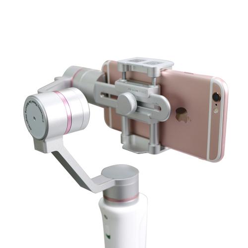 Luxy Star 樂視達 PIRO 三軸臉部追蹤穩定器-粉白限定版  贈多功能桌面拍攝腳架