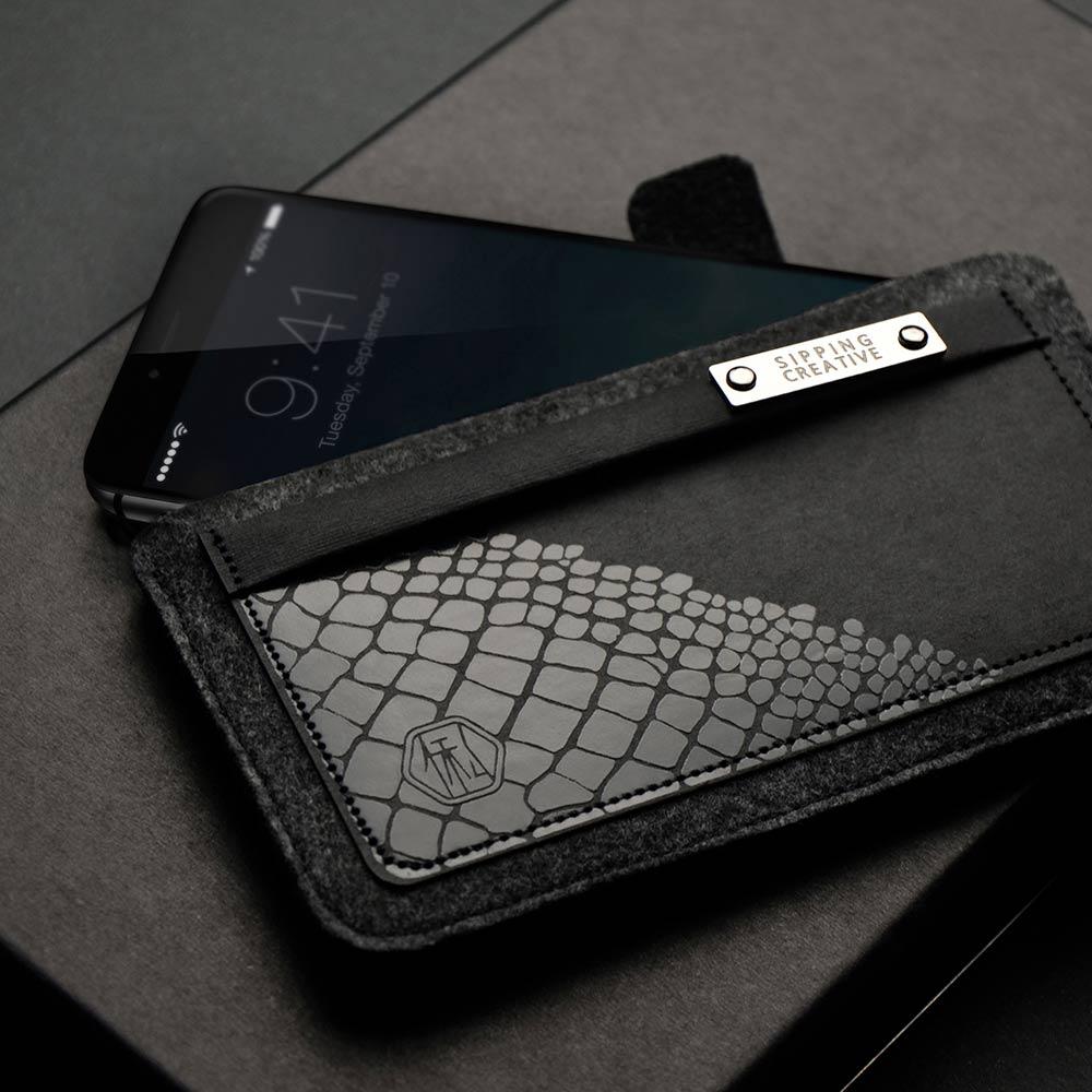 俬品創意|iPhone 保護套(鱷魚紋) for iPhone 8/7/6S