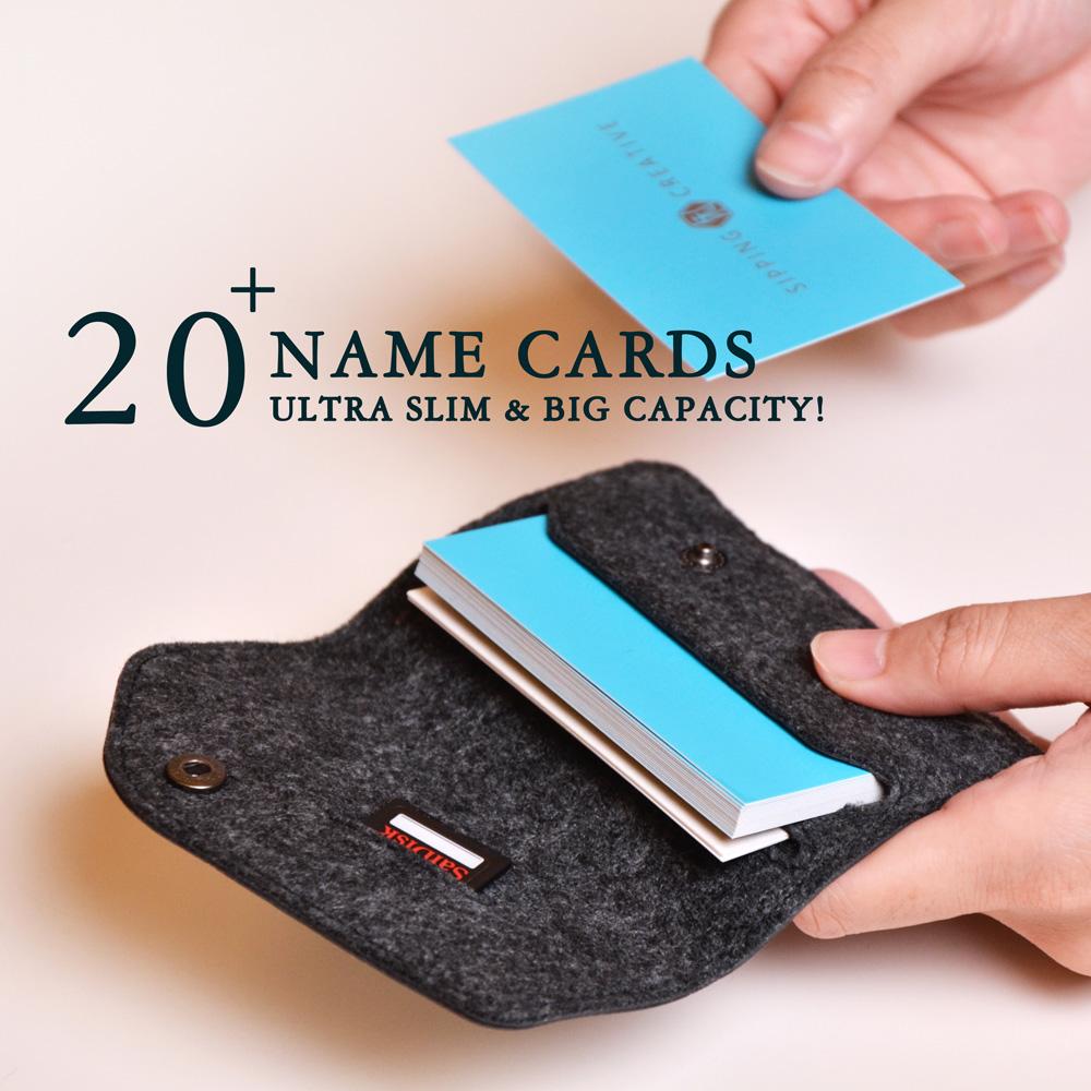 俬品創意|緻.名片夾 Name Card Holder-斑馬紋(白色)
