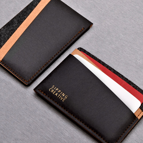 俬品創意|信用卡夾(時尚黑)