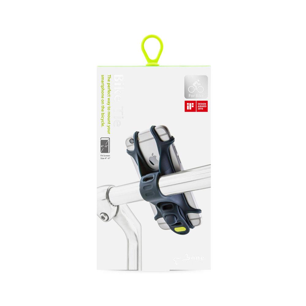 Bone|Bike Tie 單車行動綁 手機支架 單車手機架 - 藍