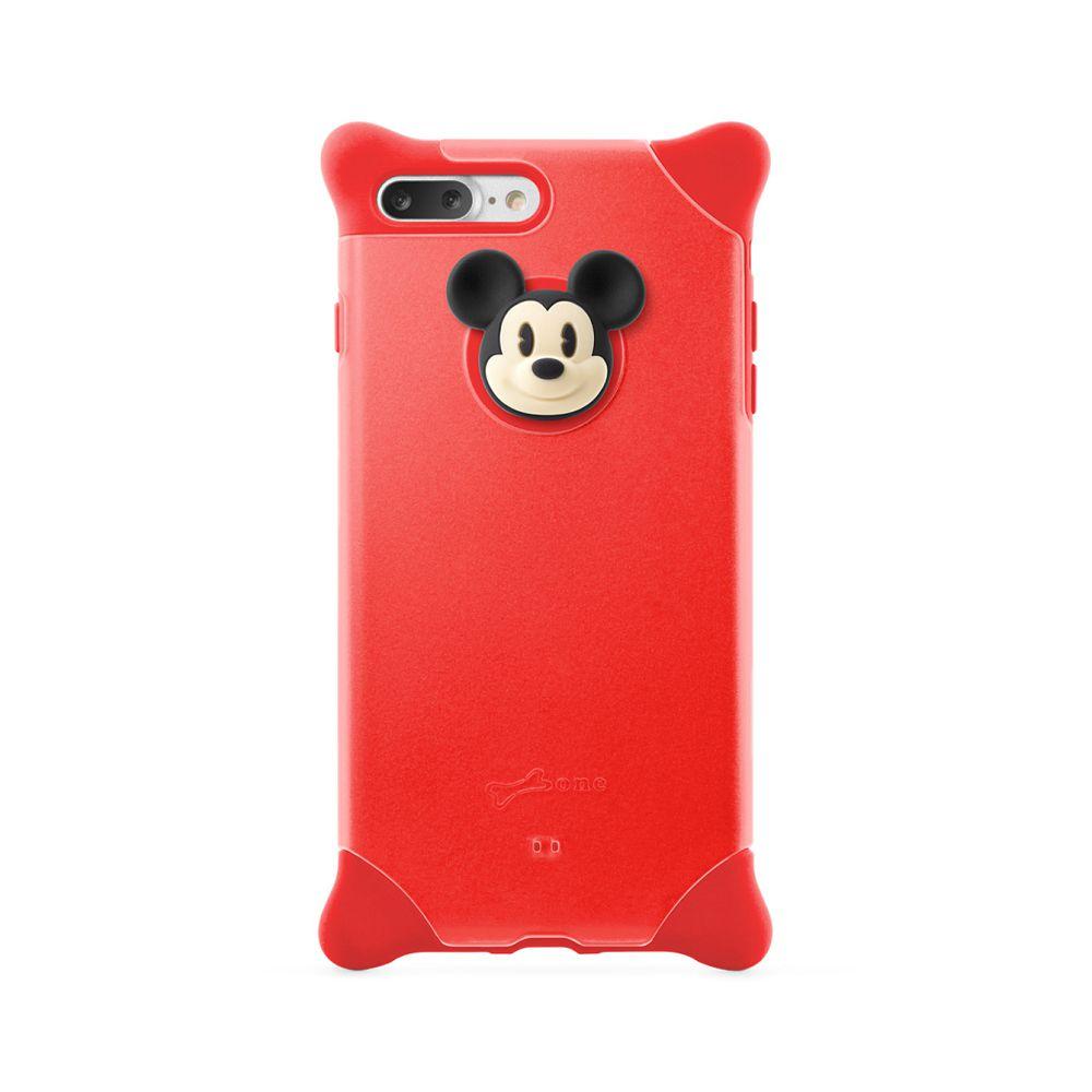 Bone|iPhone 8 Plus / 7 Plus 四角防撞 泡泡保護套 - 米奇