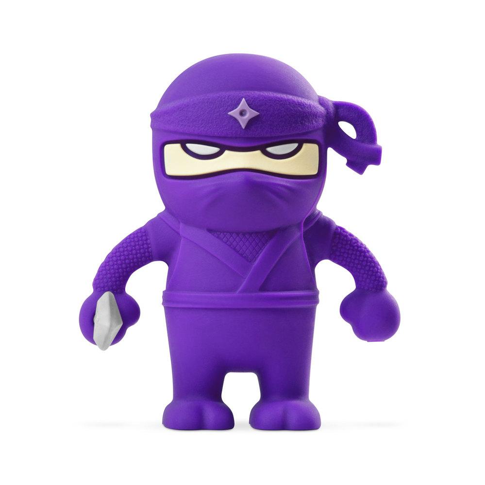 Bone Ninja Dual Driver 忍者雙頭隨身碟-紫(16G)