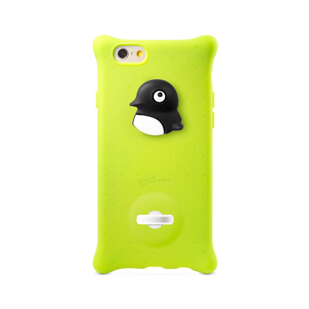 Bone|iPhone 6 / 6S 四角防撞 泡泡保護套 (Q環設計) - 企鵝