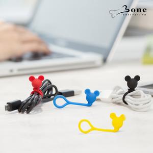 Bone|Style Q Cord Ties 米奇造型公仔Q束繩