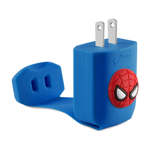 Bone|智能快速充電器 - 蜘蛛人