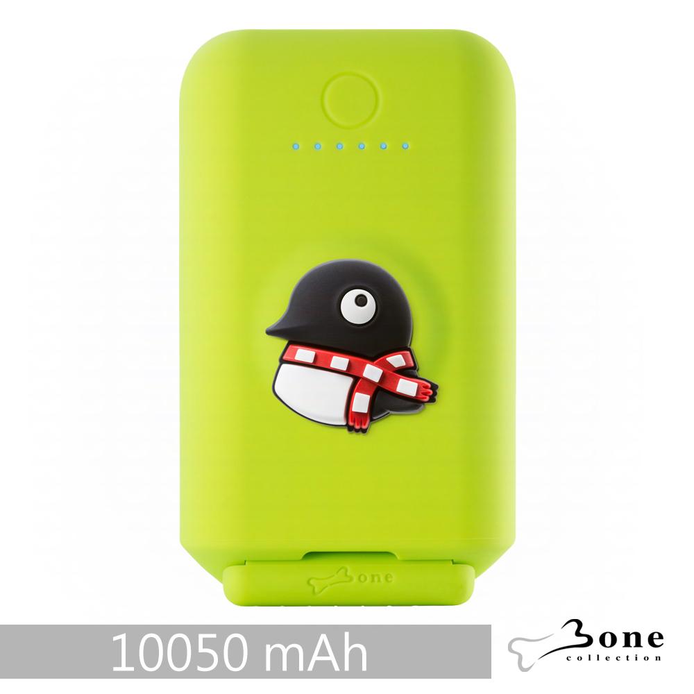 Bone|聰明立架逗扣行動電源 10050mAh - 企鵝
