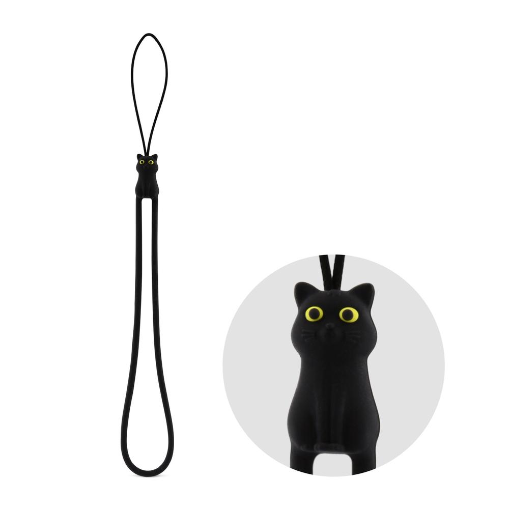 Bone Cat Strap 貓咪吊繩 - 黑