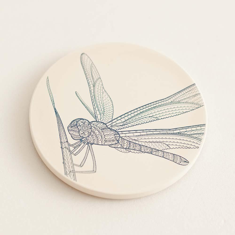 集瓷cocera|生命系列-點水 Gliding