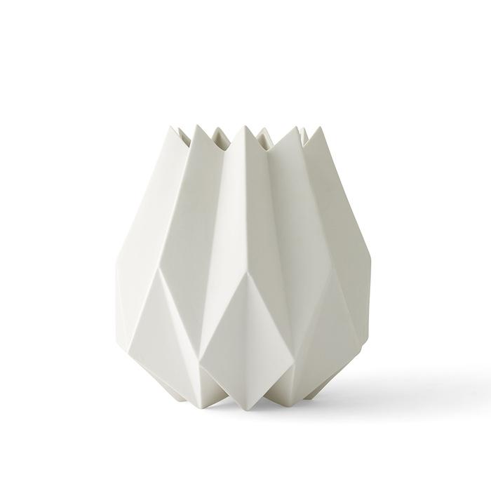 (複製)MENU|立體折痕花器─高款(深灰)