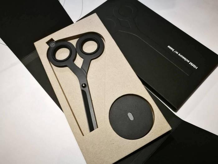 HMM|反正剪刀(含專屬底座) -黑色