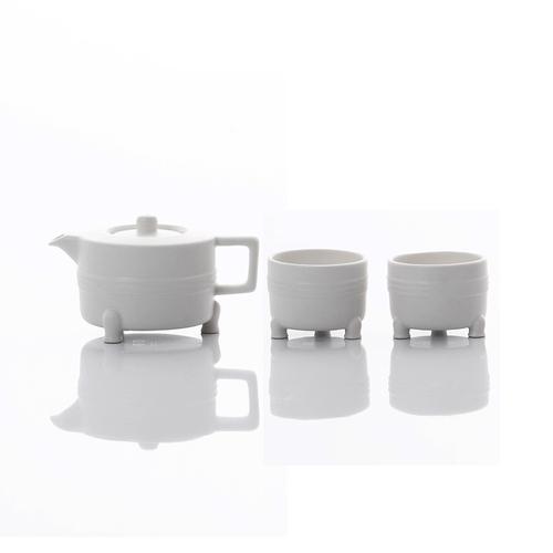 JIA Inc.|弦紋茶組-雙人組(1壺2杯)