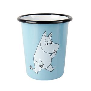 Muurla|嚕嚕米系列 - Moomin琺瑯水杯(淡藍)400cc