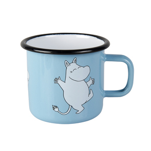 Muurla|嚕嚕米系列 - Moomin琺瑯馬克杯(淺藍)250cc