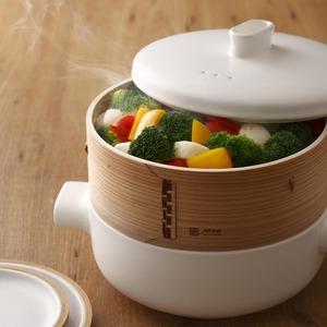 【母親節限量包裝】JIA Inc. 蒸鍋蒸籠組-24cm家庭組