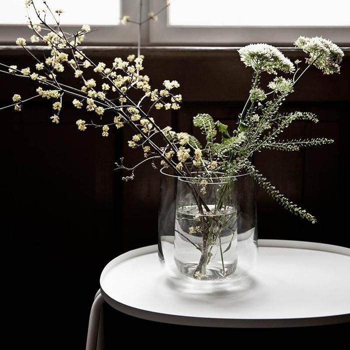 MENU|純淨透明雙層花瓶組